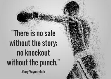 gary vaynerchuk on how story helps sales