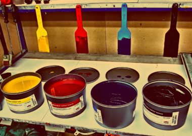 CMYK colours for offset printing