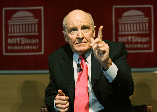 Jack Welch, Chairman and CEO of General Electric (GE)