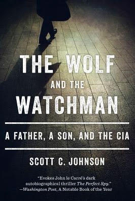 The Wolf and the Watchman cover, shadow of a man walking away
