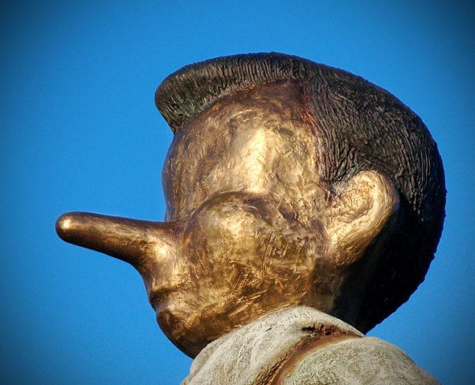 Pinnochio Statue